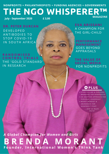 The NGO Whisperer Magazine Issue 6 cover